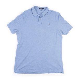 Polo Ralph Lauren Classic Fit light blue polo XXL
